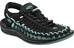 Keen W's Uneek Shoes Black/Mineral Blue